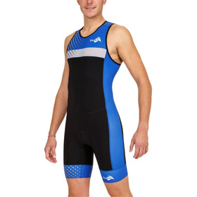 KiWAMi Prima Race 2 Combinaison de protection Homme, black/blue